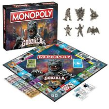 USAopoly GODZILLA MONOPOLY In stock! Monster Kaiju Board Game