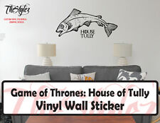 Game of Thrones House of Tully Banner Logo Vinyl Wall Sticker