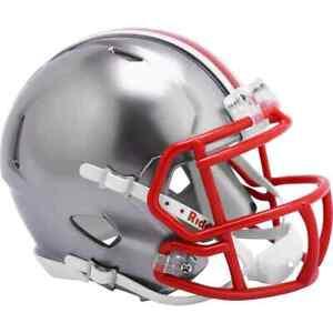 Ohio State Buckeyes Unsigned Riddell FLASH Alternate  Speed Mini Helmet