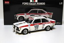 1:18 Sun Star ford escor rs1800 * RAC Rally 1976 * #22 New en Premium-modelcars