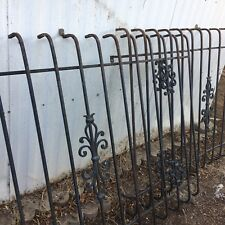3 Vintage Decorative Wrought Iron Window Guards - 4x6.5 ft  PALM SPRINGS PICK UP