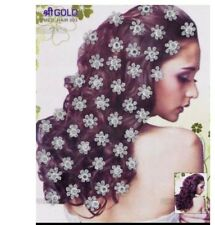 Bindi bijou de peau strass pour les cheveux Inde  1748