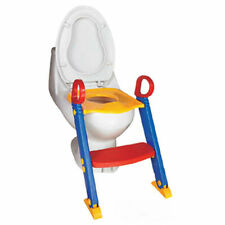 NEW Foldable Kids Children  Toddlers Toilet Potty Trainer Seat With Ladder