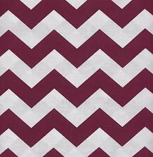 QUILT FABRIC:TONAL 100% COTTON, LARGE CHEVRON,  BURGUNDY, LC-12, By The Yard
