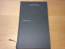 Book Libro A. LANGE & SÖHNE - Tradizionalmente ne vanguard Edizione 2011/2012