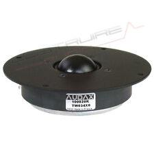 AUDAX TW034X0 Tweeter midrange 8 Ohm Hi Fi cupola morbida replacement HD 13D34H