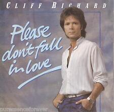 "CLIFF RICHARD - Please Don't Fall In Love (UK 2 Tk 1983 7"" Single PS)"