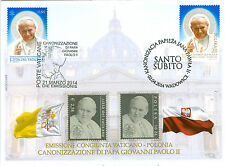 Canonization of John Paul II Cover, Vatican and Poland Special Cover
