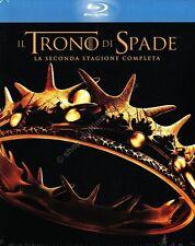 TRONO DI SPADE - STAGIONE 2 COFANETTO 5 BLU RAY DISC NUOVO!