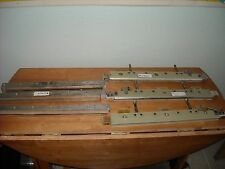 Bar Sealer Parts Lot. 3 Seal Bars 21.5'' L and 3 Sealers 19'' Overall Long. Used