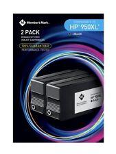 Member's Mark Remanufactured HP 950XL Black Ink Cartridge 2 pack
