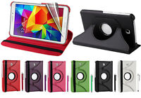 "For Samsung Galaxy Tab4 7"" T230 Case smart 360 PU Leather Folio Stand Case Cover"