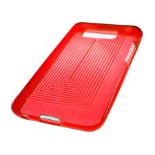 For LG Optimus Elite LS696 TPU CANDY Gel Flexi Skin Case Cover Red Plaid