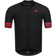 adidas Performance Mens Adistar ZIPPED Short Sleeve Cycling Cycle Jersey - XS