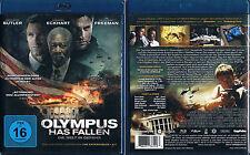 OLYMPUS HAS FALLEN --- Blu-ray --- Gerard Butler --- Morgan Freeman --- Uncut --