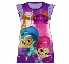 BRAND NEW GIRLS OFFICIAL SHIMMER AND SHINE NIGHTIE AGES: 2-3 up to 7-8 YEARS