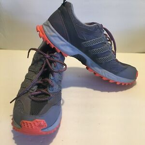 Adidas Kanadia TR5 Women Black Purple Trail Running Shoe 11