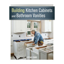 Building Kitchen Cabinets and Bathroom Vanities, Book