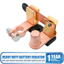 Heavy Duty Car Van Battery Isolator Switch Power Cut Off Disconnect Top Terminal