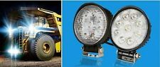 2 PC 27W Round Spot Beam 12V 6000k LED Work Lights ATV SUV Truck 4WD Jeep
