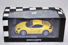 Porsche  Cayman GT4 Clubsport Street Version • NEU • Minichamps • 1:43