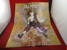 Final Fantasy X / Virtua Fighter 4 PS2 Calendar Promo Poster Insert ONLY