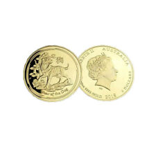 24k Gold Plated Gold Coin The Year of Dog Metal Coins Art Crafts Christmas Gifts