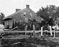 CIVIL WAR ERA PHOTO-General Robert E Lee's Headquarters, Gettysburg, PA, 1861-65