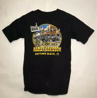 Vintage Harley Davidson 1997 Sz L Daytona Beach Bike Week Single Stitch T Shirt