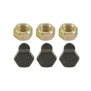 Set of 3 Torque Converter Bolts Grade 8 for Chevy GM TH 350 400 Automatic PG Nut