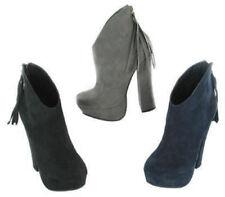 Botas de mujer textil de color principal azul