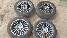 Fiat grande punto alloys, black 15 inch, set of 4 alloys, 1756515  with tyres