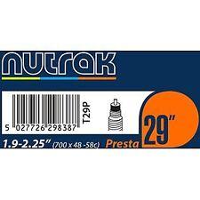 Nutrak 29 X 1.9 - 2.2 inch Presta inner tube black