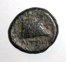 Ancient Greek Bronze coin. 400 - 300 BC.