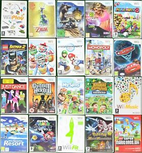 Nintendo WII Games - Pick Up Your Game - Multi Buy Discount - PAL - FREE P&P