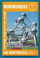 Gids 1986 Minimundus, Die kleine Welt am Wörthersee, Klagenfurt Oostenrijk