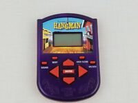 Hangman Electronic Handheld Game 2002 Hasbro Tested & Works Great!