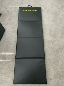Very Nice Golds Gym Super Plush Home Gym Workout Yoga Mat 6 Ft Long 1 1/4 Thick