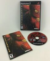 Spider-man 2 Playstation 2 Video Game PS2 Sony 2004 Complete Game Case Manual