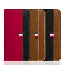 For IPhone XS / X Luxury Premium Elite Suede Leather Wallet Case