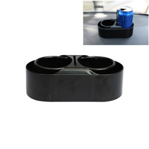 Dual Hole Car Drink Holder Organizer Cup Stand ABS Portable Interior Accessories