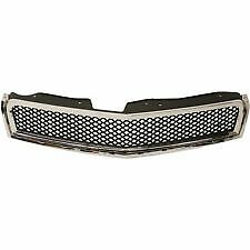 fits 2009-2012 CHEVY TRAVERSE Front Bumper Cover Upper Grille Above Emblem NEW