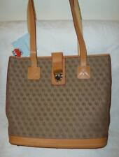 NWT Dooney & Bourke CABRIOLET Medium Shopper Tote Leather Shoulder Bag BROWN