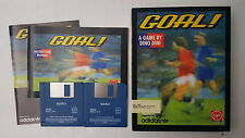 Goal ! Dino Dini Virgin Games Commodore Amiga Computer Game Software 1993