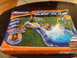 Banzai Wave Crasher Surf Slide Inflatable Body Board 18593 New Damaged Box