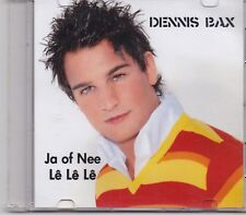 Dennis Bax-Ja Of Nee promo cd single