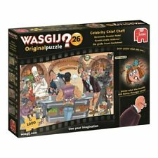 Wasgij Original 26 Celebrity Chief Chef Jigsaw Puzzle - 1000 Pieces (HOL770274)