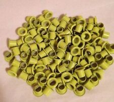 """Eyelets 25 Pack 8-8 Yellow 1/4"""", Kydex"""