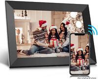 Frameo 10.1 Inch Smart Wifi Digital Photo Frame 1080P IPS LCD Touch Screen B2M0