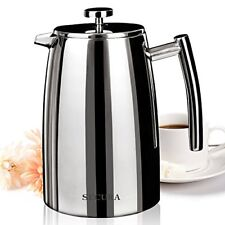 Secura 1500ML French Press Coffee Maker 50 Ounce Stainless Steel 18 10 SFP 50DSC